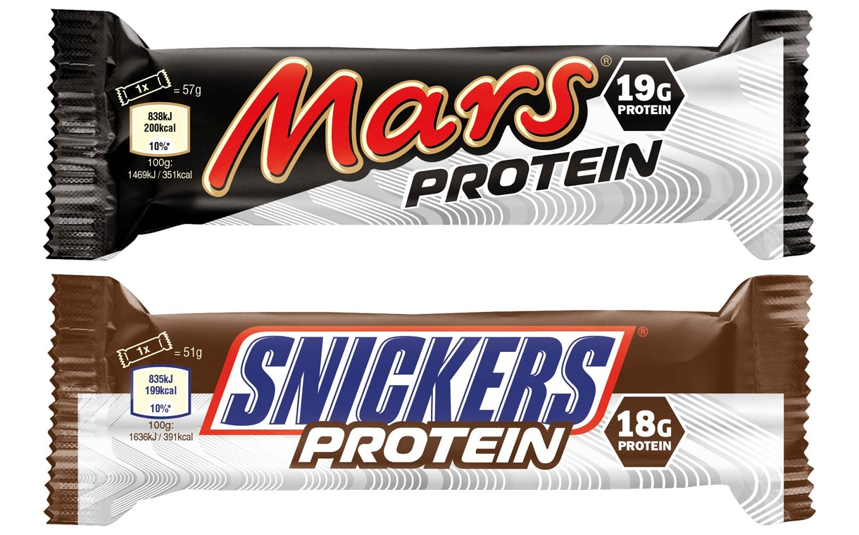 Mars & Snickers Protein Bars now available!