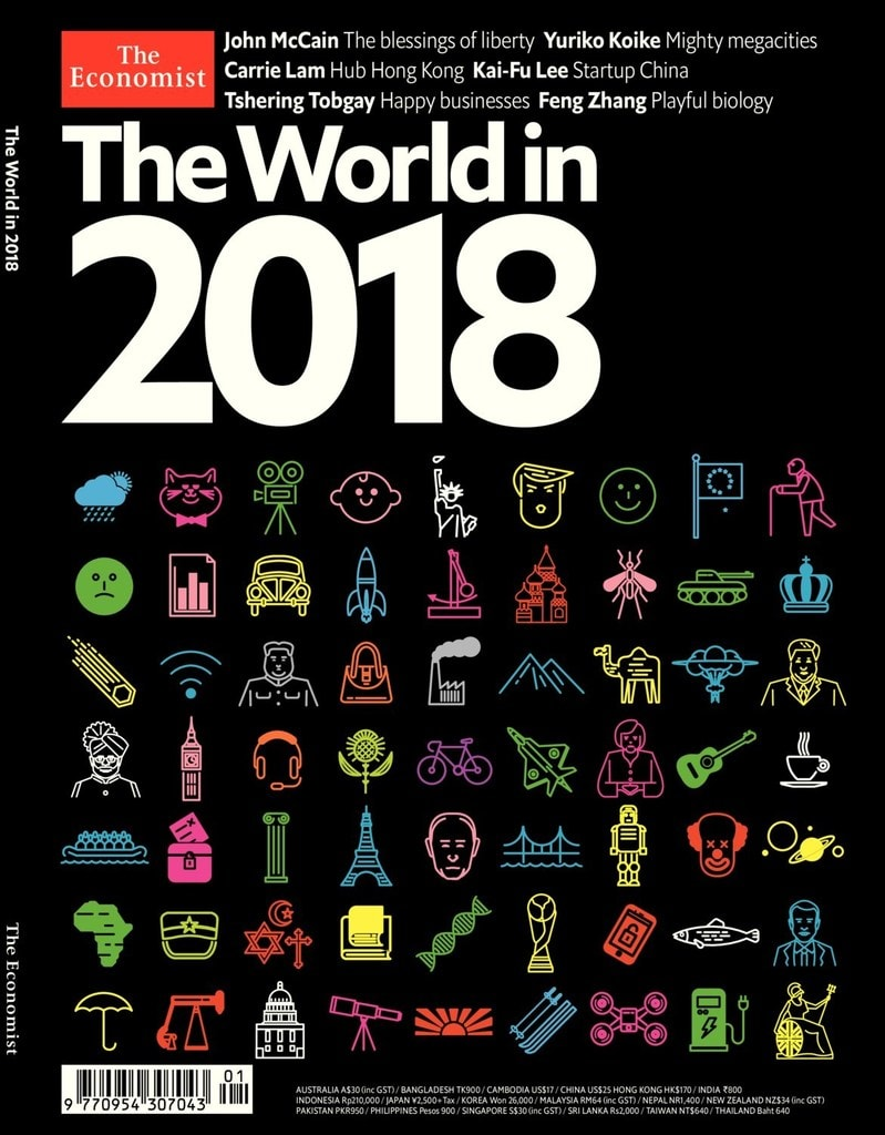 It's back!!  Our annual promotion for The Economist's 'World in…'