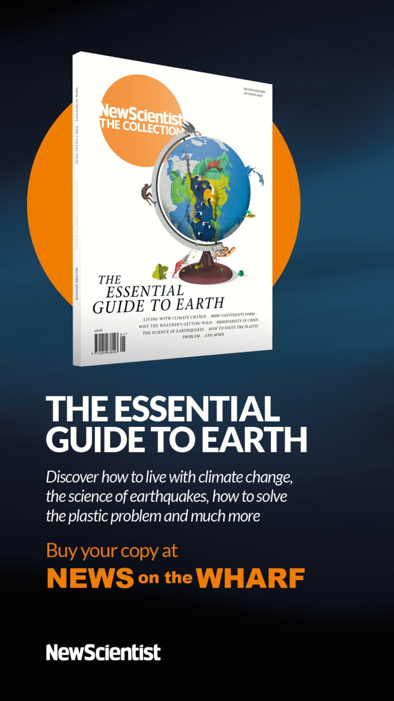 New Scientist Collection The Essential Guide To Earth Digital Screen Artwork